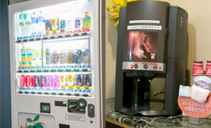1,2F 自動販売機・コーヒーメーカー イメージ