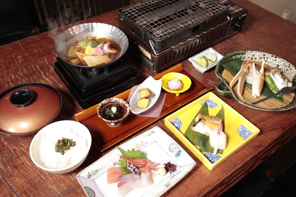 直営店「醍庵」加賀のと膳のご夕食コース付プラン【1泊2食付プラン】